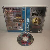 Eternal Champions: Challenge From the Dark Side Sega CD Complete CIB TESTED