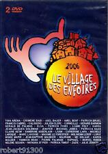 D.V.D./.....LE VILLAGE DES ENFOIRES..../...2 DVD..../...2006.......