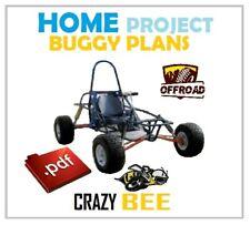 Dune Buggy, Buggy Plans, Crazy Bee - Gokart Plans, Best Homebuilt Project
