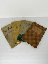 1930's Jewel Tea Co Mary Dunbar's New Cook Book Vintage Lot Of 4