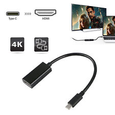 Type C to HDMI Adapter Female HDTV 1080p USB-C USB 3.1 Male Adapter Cable