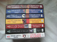 Lot 7~Sookie Stackhouse series-Charlaine Harris~True Blood Vampire~Box Set~LBDPA