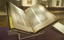 * THE GUTENBERG BIBLE (1200 PAGES) & KJV BOOKS on CD * RELIGION B42 MAZARIN
