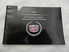 2004 Cadillac CTS Navigation Owners Manual