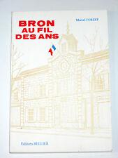 BRON Rhône Lyon Asile d'aliénés du Vinatier Parc de Parilly Eglise Saint-Denis