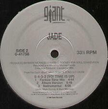 JADE - 5-4-3-2 (Yo! Time Est Up) - 1994 Giant Usa - 0-41758