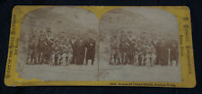 CARBUTT STEREOVIEW VIEWS OF THE ROCKY MOUNTAINS INDIAN CHIEFS PAWNEE TRIBE #308