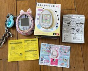 TAMAGOTCHI 4U - White Bandai Virtual Toy Pet - KAWAII Japan Import