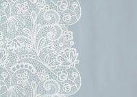 A1 Grey Floral Lace Doily Poster Art Print 60 x 90cm 180gsm - Cool Gift #15107