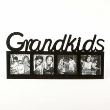 GRANDKIDS LARGE LETTER MULTI OPENING Picture PHOTO FRAME GIFT FOR GRANDPARENTS