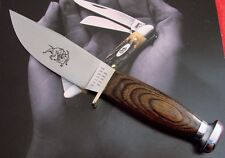 Bulldog Brand Scagel Design Sheath Knife 1990's Issue From NEW OLD STOCK AAA+ NR