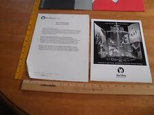 Fantasia 2000 IMAX experience Walt Disney Records press kit w/photo