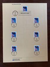 New listing Usps 2006 39c Lady Liberty Amd U.S.Flag Cancellation Page