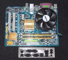 Gigabyte GA -G31M -ES2L Mainboard Bundle Sockel 775 Intel Core 2 Quad Q6700 4GB