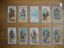 Cigarette Card Set (50) Will's Australian Issue -  Riders of the World 1913 NICE