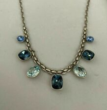 Touchstone Crystal by Swarovski BASKETWEAVE NECKLACE New In Box
