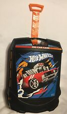 Hot Wheels Rolling 100 Cars Car Storage Organizer Suitcase Carrier Case Matchbox