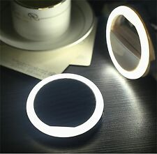 US Seller Selfie Portable LED Ring Fill Light Camera Photos for SmartPhone Pink