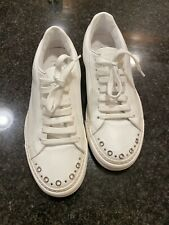 Costume National Mens White Sneakers (trainers) New - Retail For $450