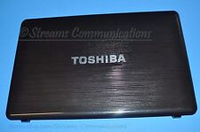 "TOSHIBA Satellite P755-S5265 15.6"" Laptop LCD Back Cover w/ Webcam + Antenna"