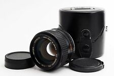 MINOLTA MC ROKKOR PG 50mm F/1.4 F1.4 MF Prime Lens w/ Case【Excellent++】Japan