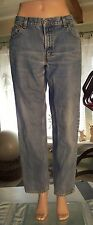 Levis 550 womens Relaxed Tapered Size 12S Blue Denim Jeans L28 W30