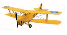 Dynam Tiger Moth ARTF Bi-plane Yellow PNP No Tx/rx/bat SUPERB Scale Flyer