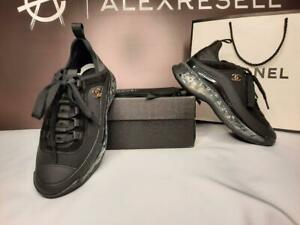 Chanel Sneakers * New Women Leather 7.5 US size / 38 EU size *