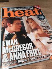 Heat Magazine First Ever Preview Issue RARE Magazine. Ewan McGregor VGC