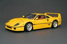 FERRARI F40 YELLOW by HOT WHEELS ELITE EDITION 1:18 NEW IN BOX SPECIAL SALE