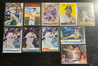 Max Muncy Lot(10) Topps Los Angeles Dodgers