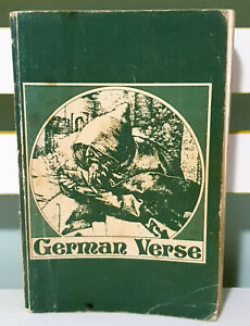German Verse: Second Edition! Vintage 1967 Book by G. Schulz & R. H. Samuel!
