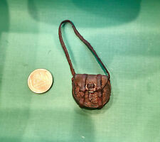 Dollhouse   Miniature 1:12  Nantasy Fantasy - Leather Bag, Pouch,