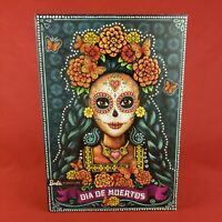 New 2019 Day of the Dead Dia de Muertos Barbie Doll with Stand and COA