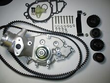 PORSCHE 944 TURBO 951 WATER PUMP KIT NEW URO +BELTS & ROLLERS 86 ONLY STAGE  2