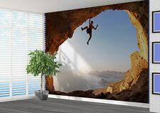 Rock Climbing Extreme sports wallpaper wall mural (17339236) Outdoors Canyon