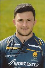 WORCESTER WARRIORS RUGBY UNION * JONNY ARR SIGNED 6x4 PORTRAIT PHOTO+COA