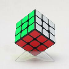 Super smooth Rubik Cube Game Base 3X3 Rubix Kids Toy Games Brain Teaser w/ Stand
