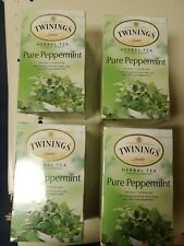 (Lot of 4)Twining's Tea Jacksons Of Piccadilly Tea - Pure Peppermint -