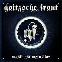 GOITZSCHE FRONT - MUSIK IST MEIN BLUT  CD NEU