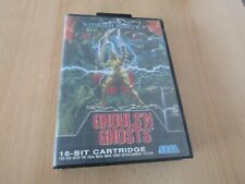 Ghouls 'N Ghosts For The Sega Mega Drive Boxed PAL UK