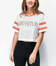 Odd Future Women's White Mesh Crop Jersey Size M NWT