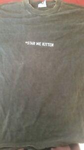 REM Automatic Star Me Kitten 1993 vintage licensed concert shirt XL Mint RARE!!