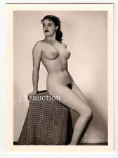 #810 ROESSLER AKTFOTO / NUDE WOMAN STUDY * Vintage 1950s Studio Photo - no PC !