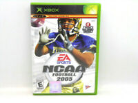 NCAA College Football 2005 xbox case and disc only