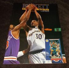 NBA Basketball Beckett Magazine June 1992 Issue 23 Billy Owens Warriors