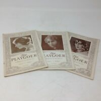 Lot of 3 issues of the DETROIT publication The Playgoer from 1926. WONDERFUL ADS