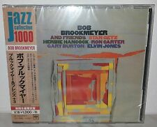 CD BOB BROOKMEYER AND FRIENDS - STAN GETZ - HANCOCK - CARTER - JAPAN SICP 3990