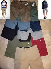 NEW Volcom Vmonty Modern Fit Mens Flat Front Casual Shorts