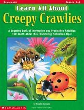 Learn All About: Creepy Crawlies: A Learning Bank of Information and